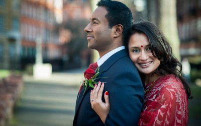 Marylebone Room wedding | Tas + Ravi