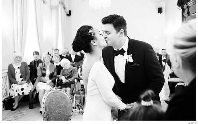 Stylish Chelsea wedding | Kate + James