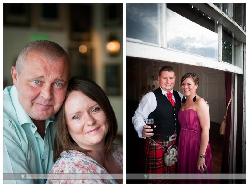 Summer Trafalgar Tavern wedding portraits of guests